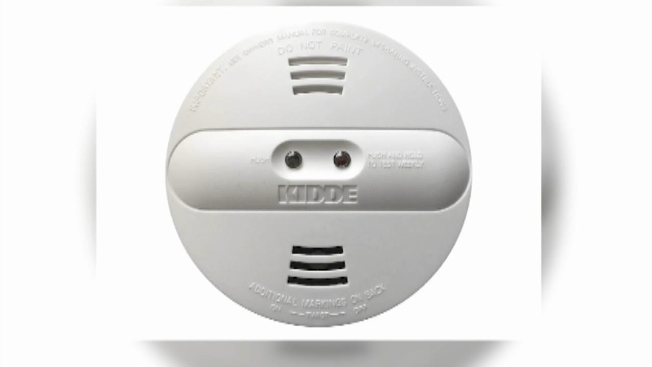 Kidde recalls nearly 500,000 smoke alarms