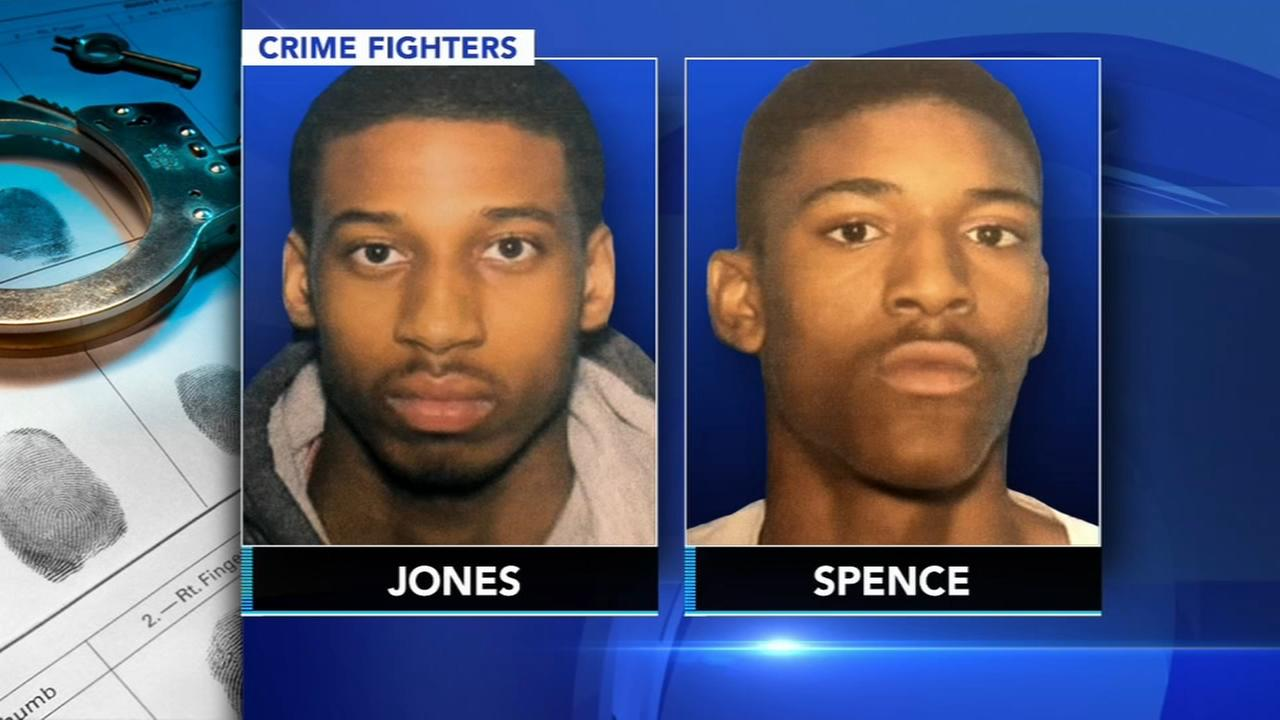 CrimeFighters: Reward for arrests of 2 murder suspects