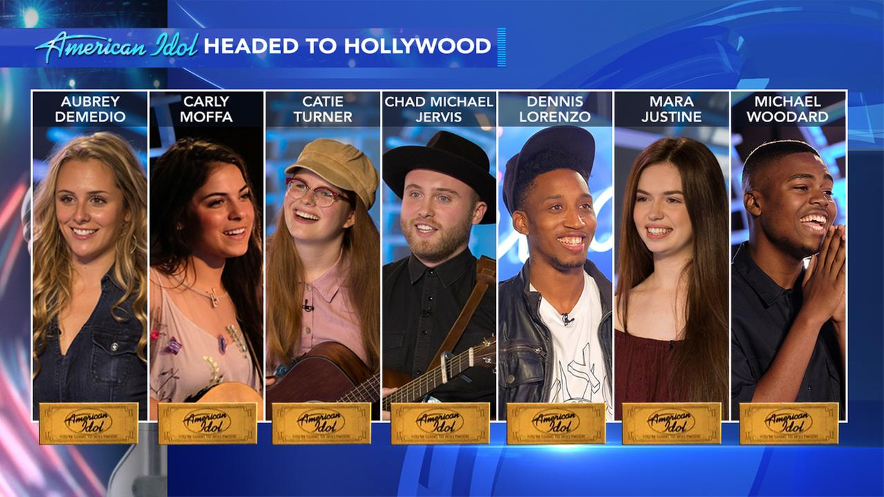 Local contestants heading to Hollywood Week on American Idol