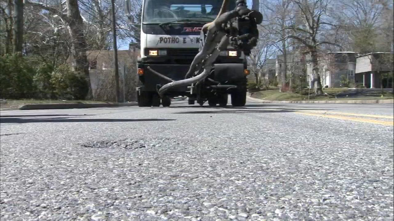 PennDOT begins pothole repairs on area roads