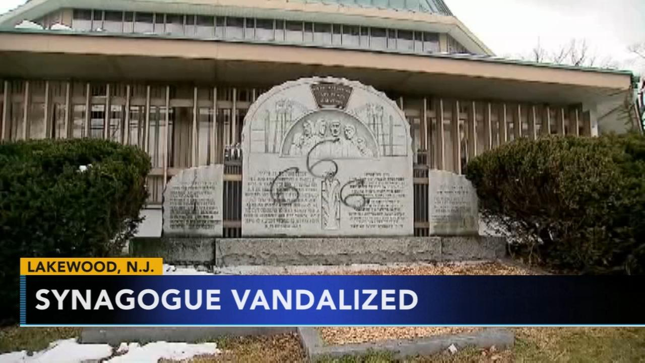 New Jersey synagogue vandalized