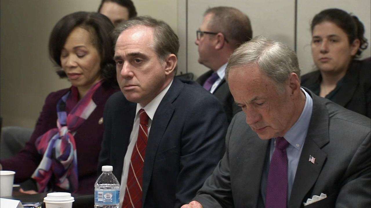 VA secretary Shulkin attends Del. summit amid speculation