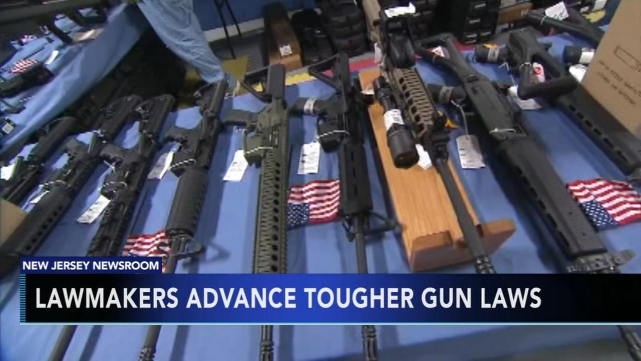 New Jersey lawmakers advance bills to tighten gun laws