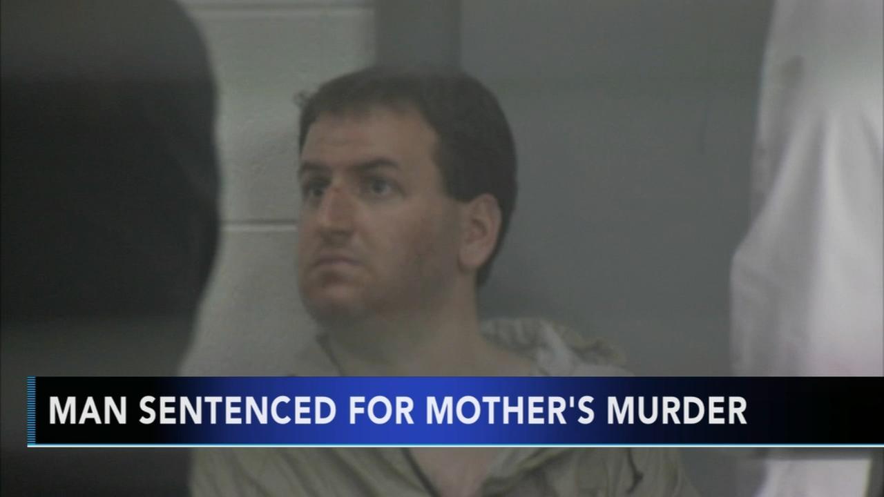 Man sentenced for mothers murder