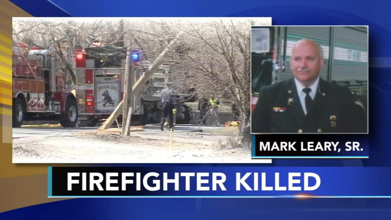 NJ fire department mourns firefighter killed in head-on crash