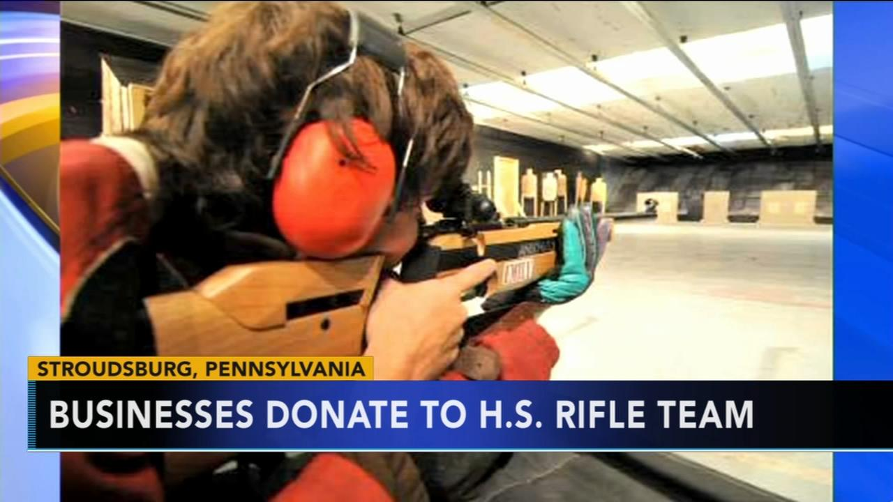 Businesses to donate to high school rifle team