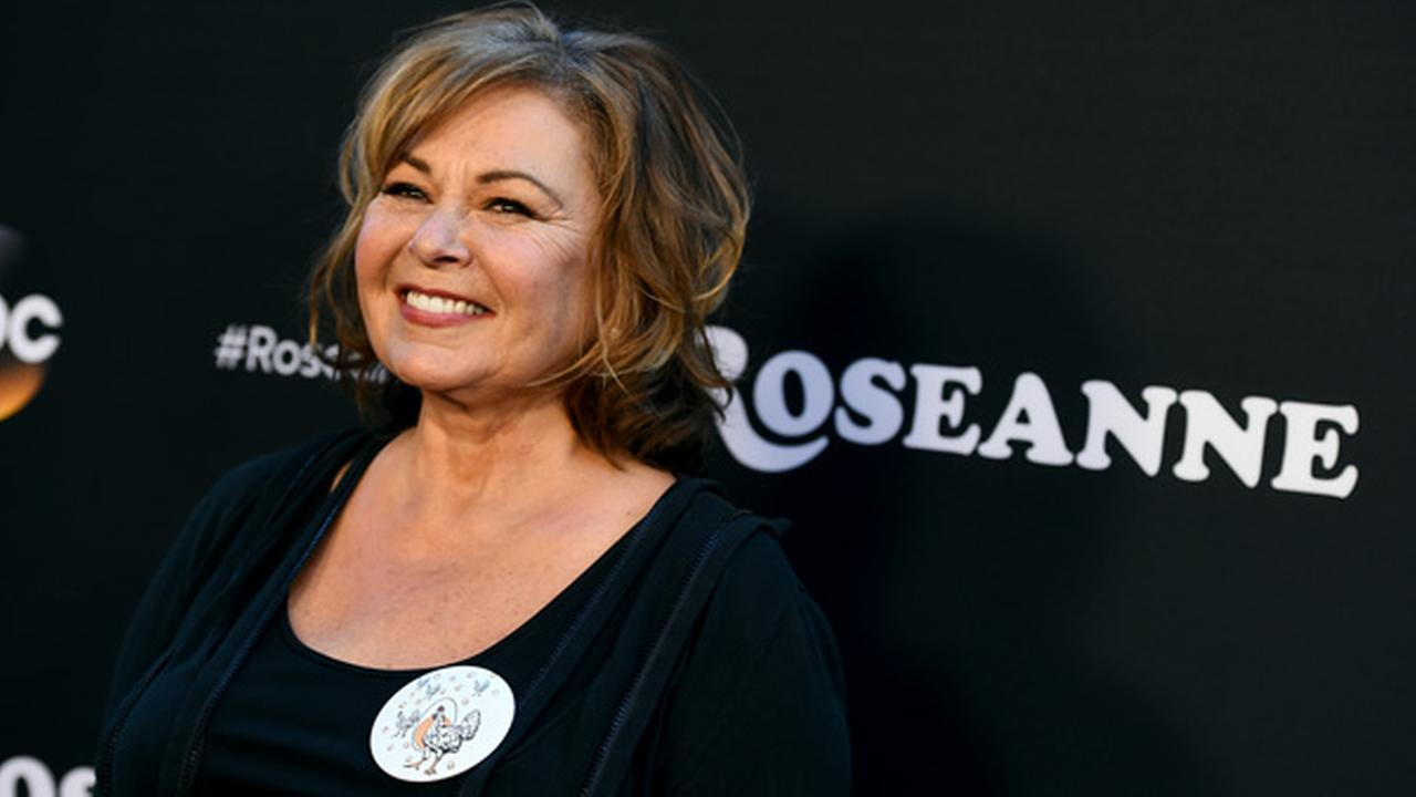 In this March 23, 2018, file photo, Roseanne Barr arrives at the Los Angeles premiere of Roseanne on Friday in Burbank, Calif.