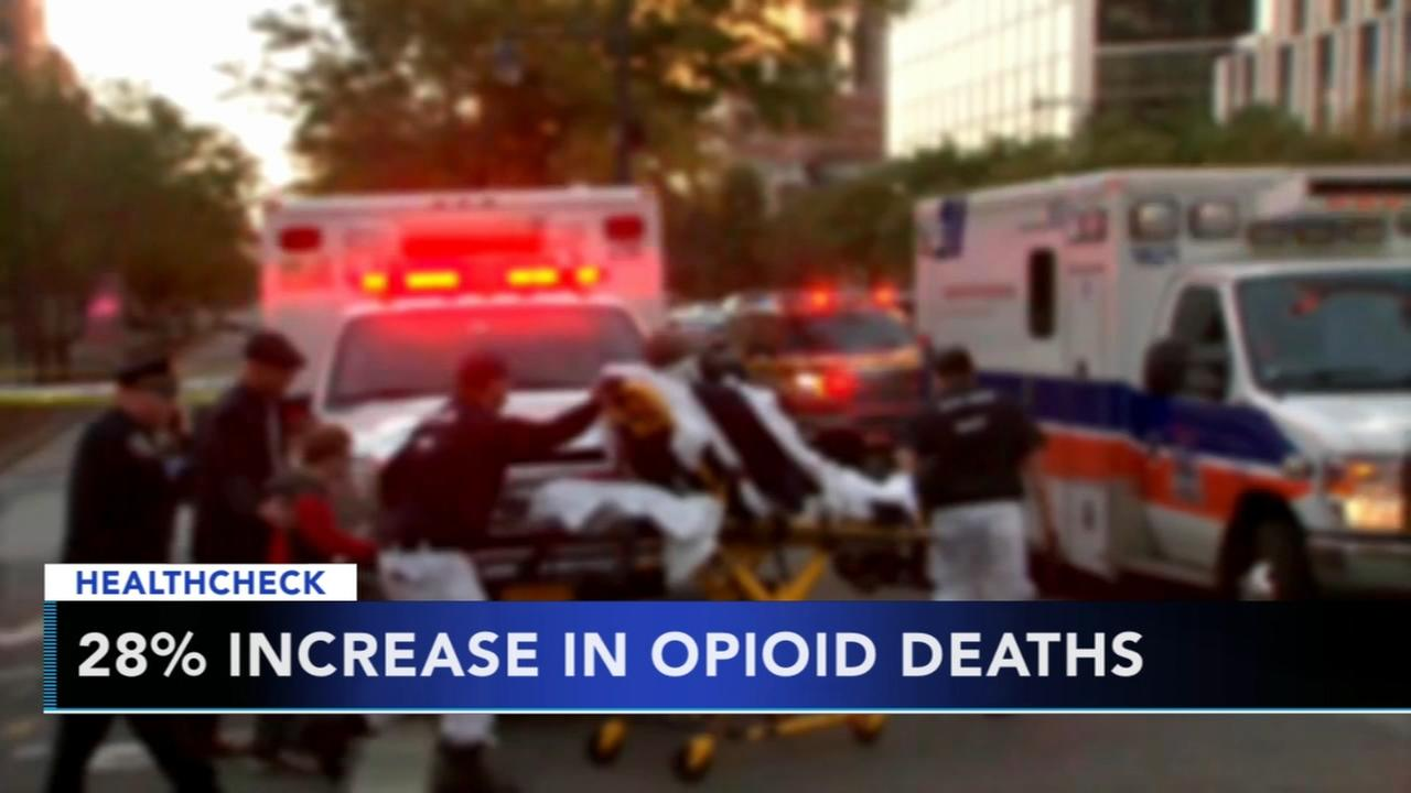 CDC: Nearly every state seeing increases in fatal drug overdoses