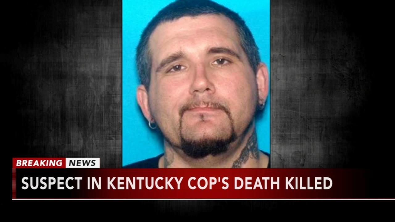 Suspect in Kentucky officers death killed in Tenn.