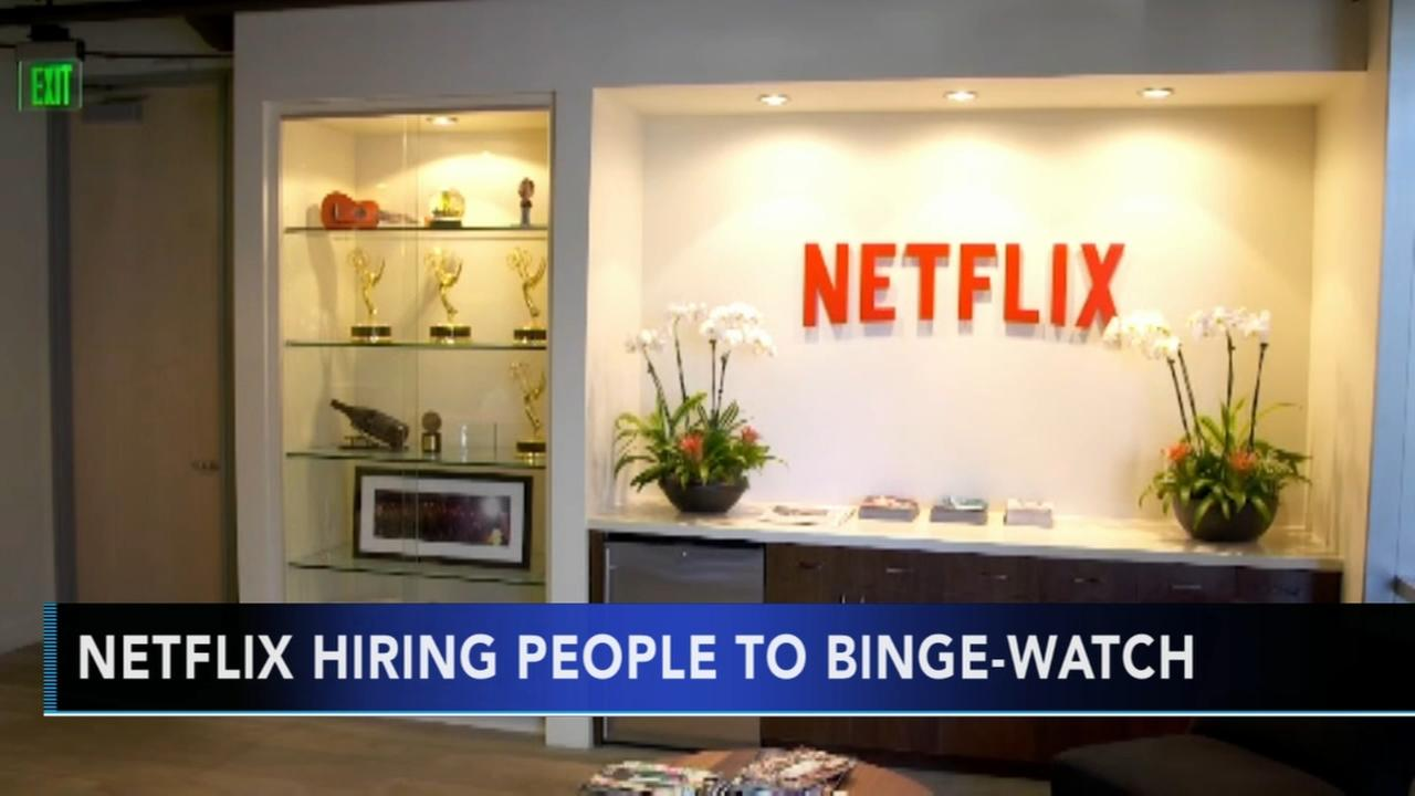 Netflix looks to hire binge-watchers to rate shows and movies
