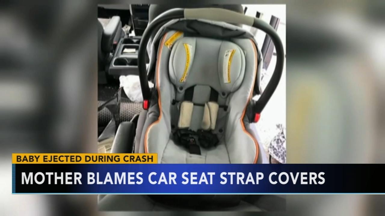 Georgia mother warns parents about car seat strap covers