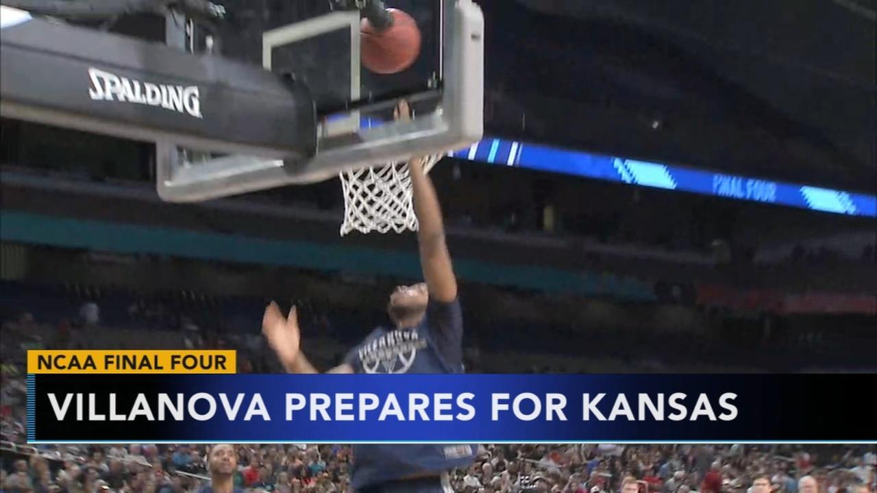 Villanova prepares to take on Kansas