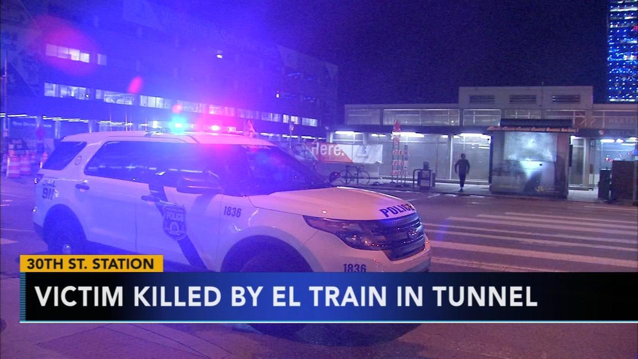 Person struck by El train