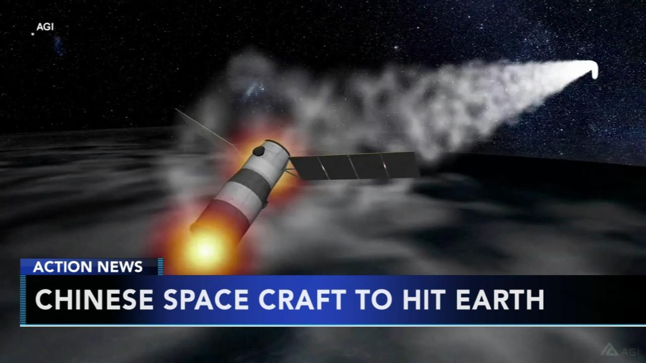 Chinas defunct space lab hurtling toward Earth for re-entry