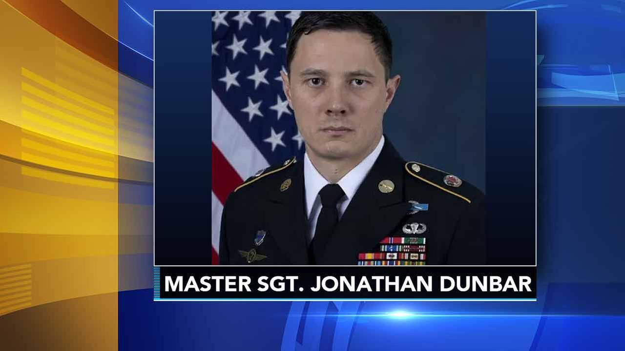 Master Sgt. Jonathan Dunbar