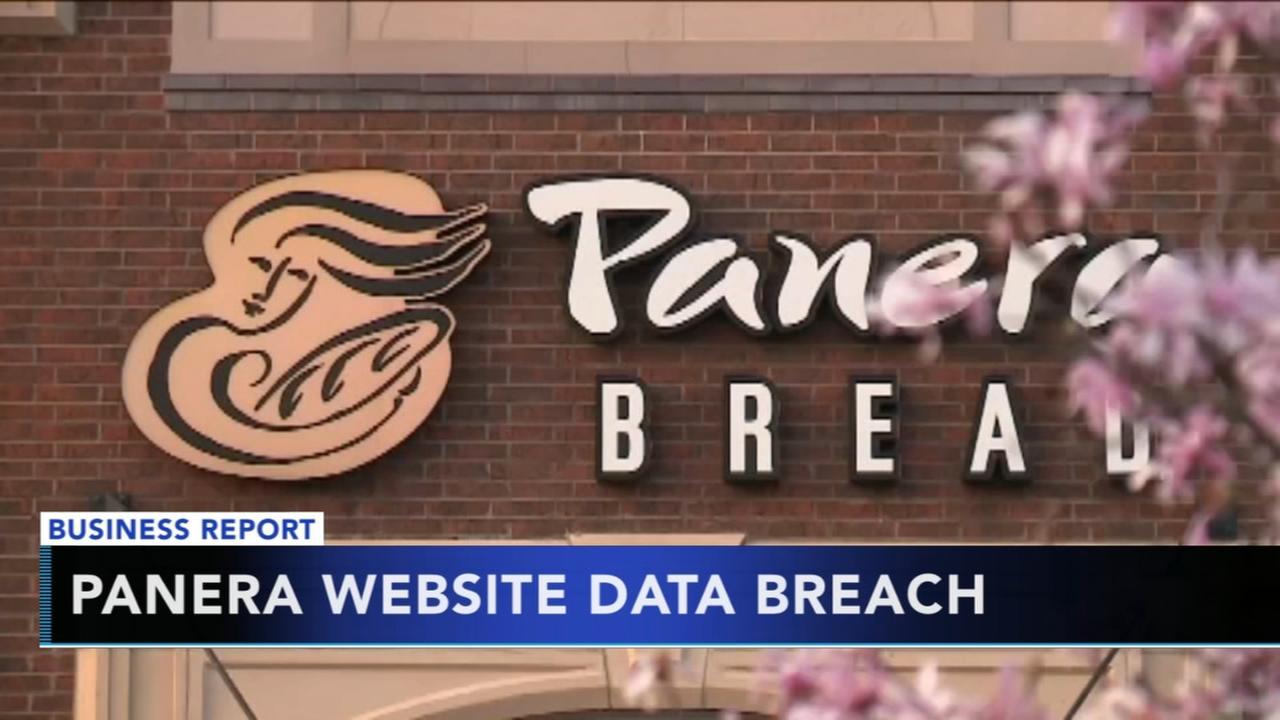Panera Bread website data breach