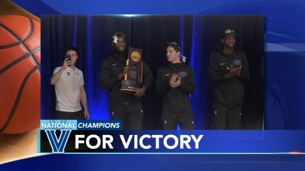 Villanova Wildcats return home to warm welcome from Nova Nation