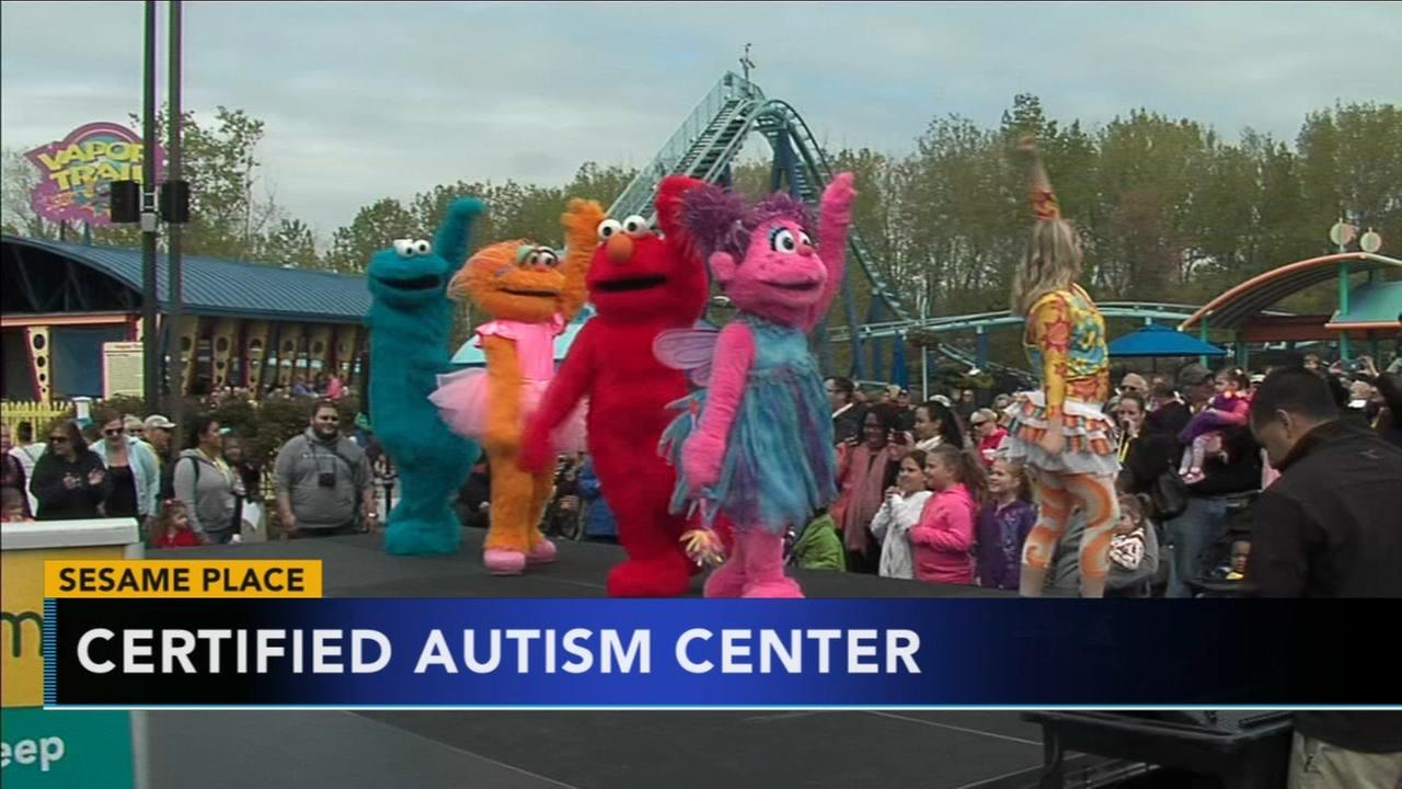 Sesame Place designated as Certified Autism Center