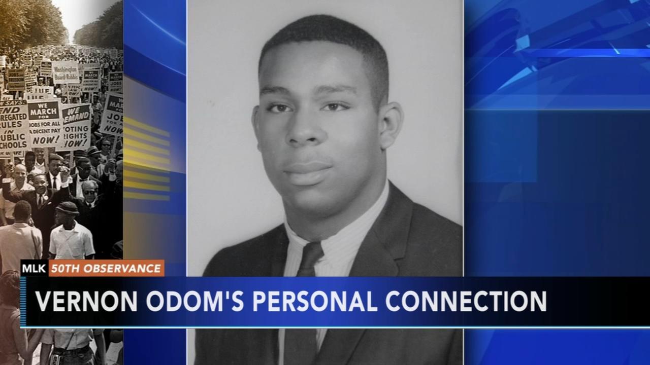Vernon Odom recalls covering MLK assassination