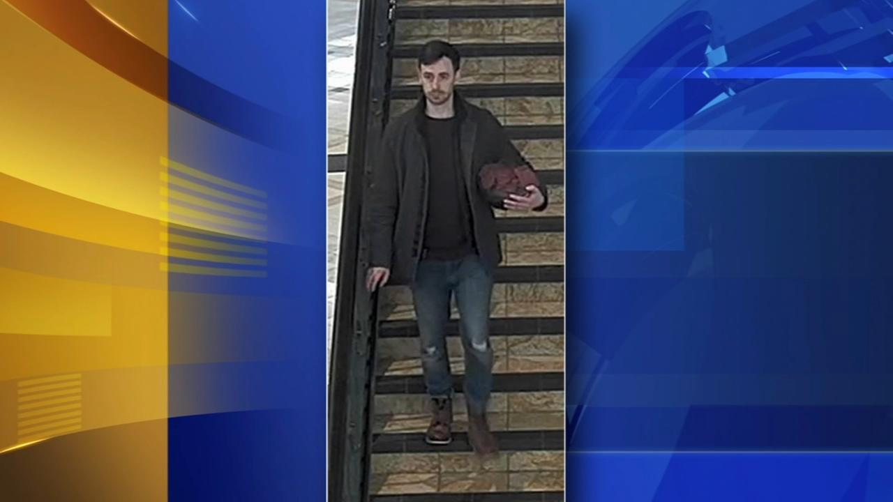 Stalking suspect at King of Prussia Mall