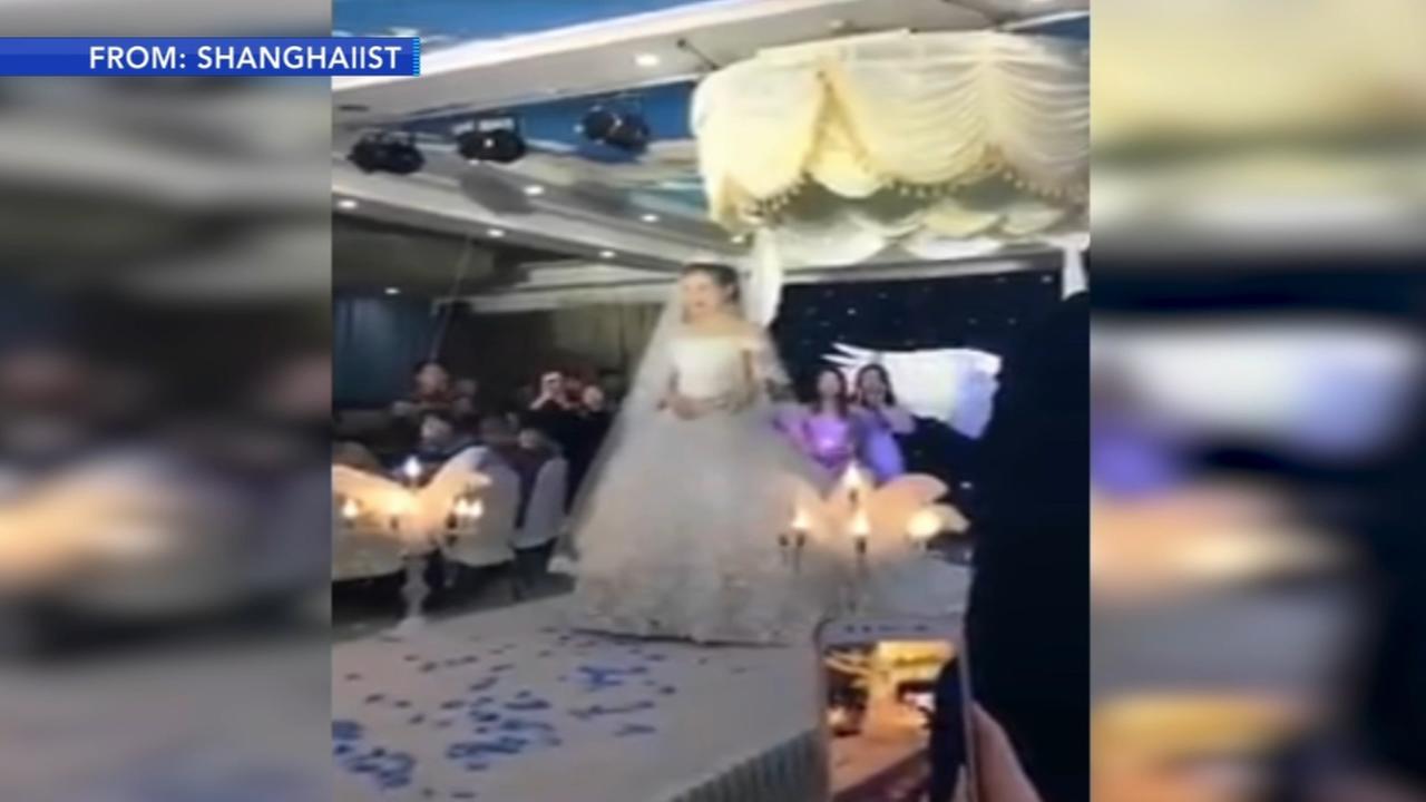New wedding trend involves a flying veil