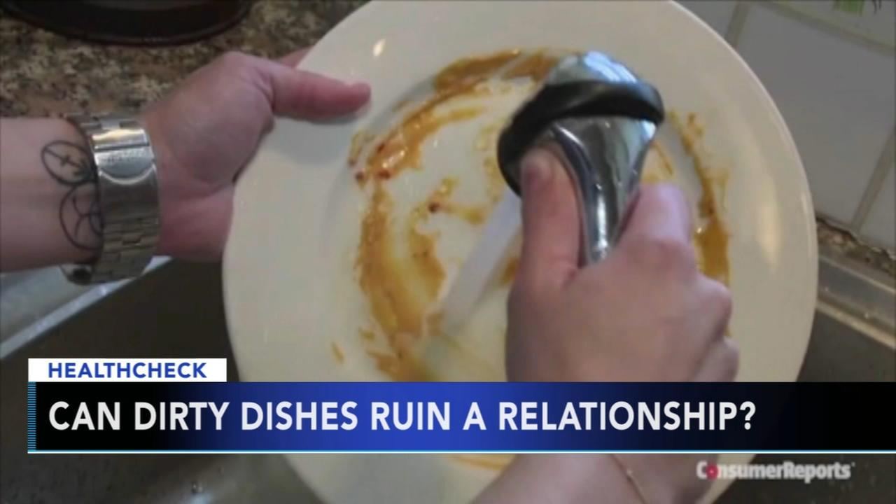 Can dirty dishes ruin a relationship?
