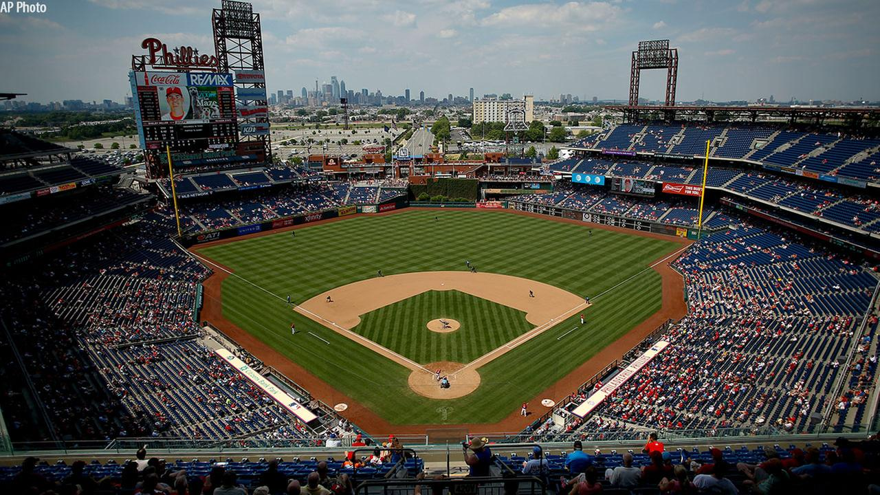 A 2016 photo of Citizens Bank Park in Philadelphia, Pa.