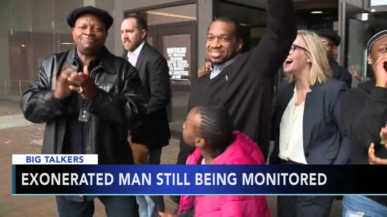 Exonerated man still being monitored after wrongful conviction