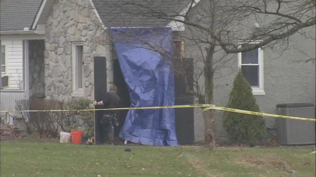 Woman, 86, killed after car crashes into her Montco home