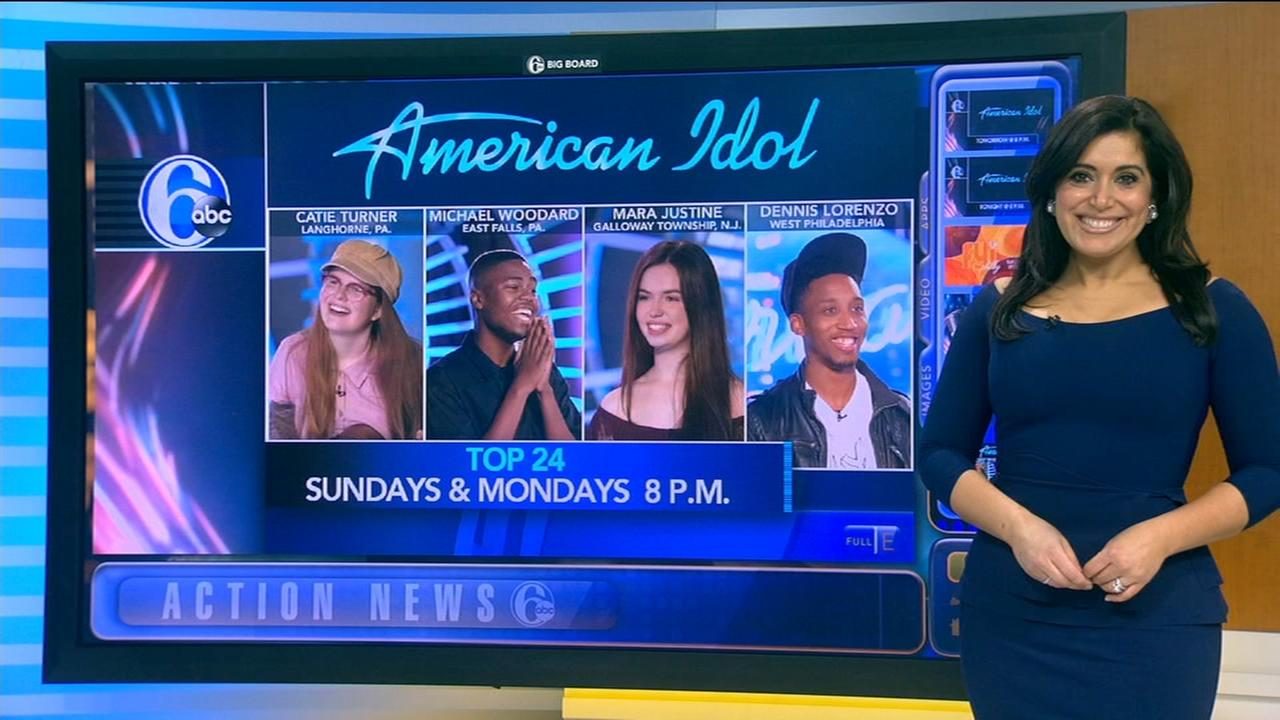 For local contestants compete in Top 24 on American Idol