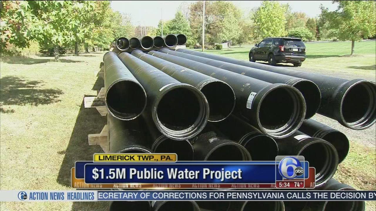VIDEO: $1.5M public water project