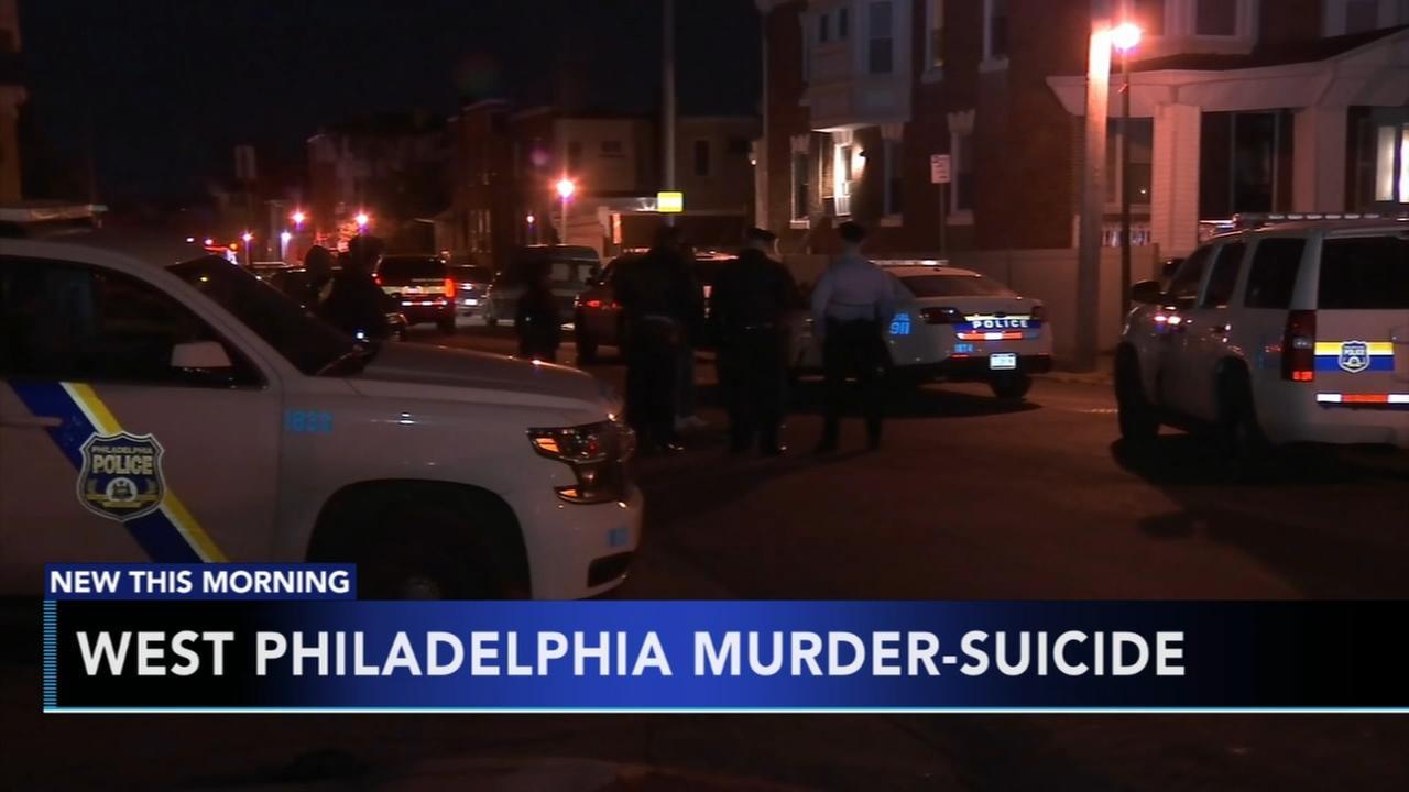 Apparent murder-suicide in West Philadelphia