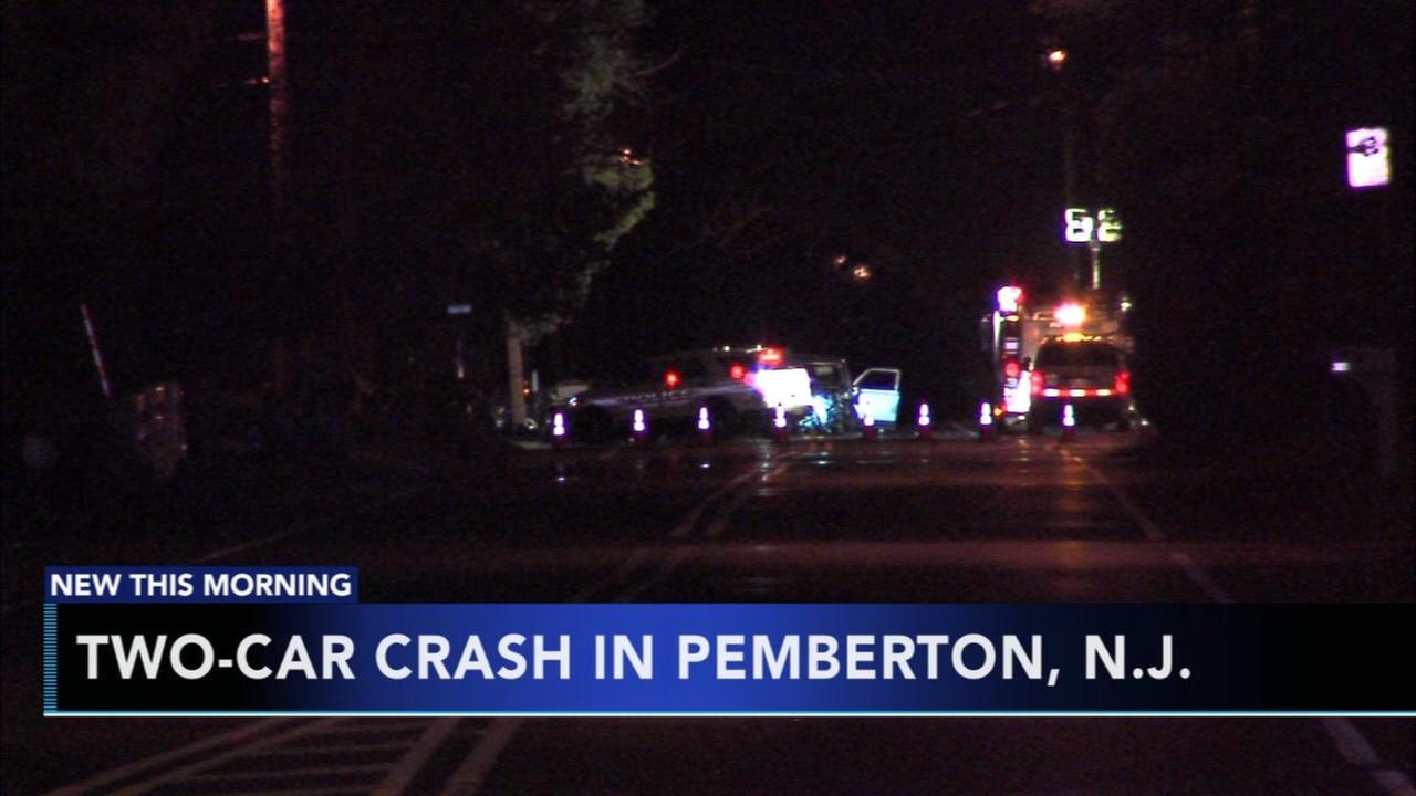 1 injured in Pemberton crash