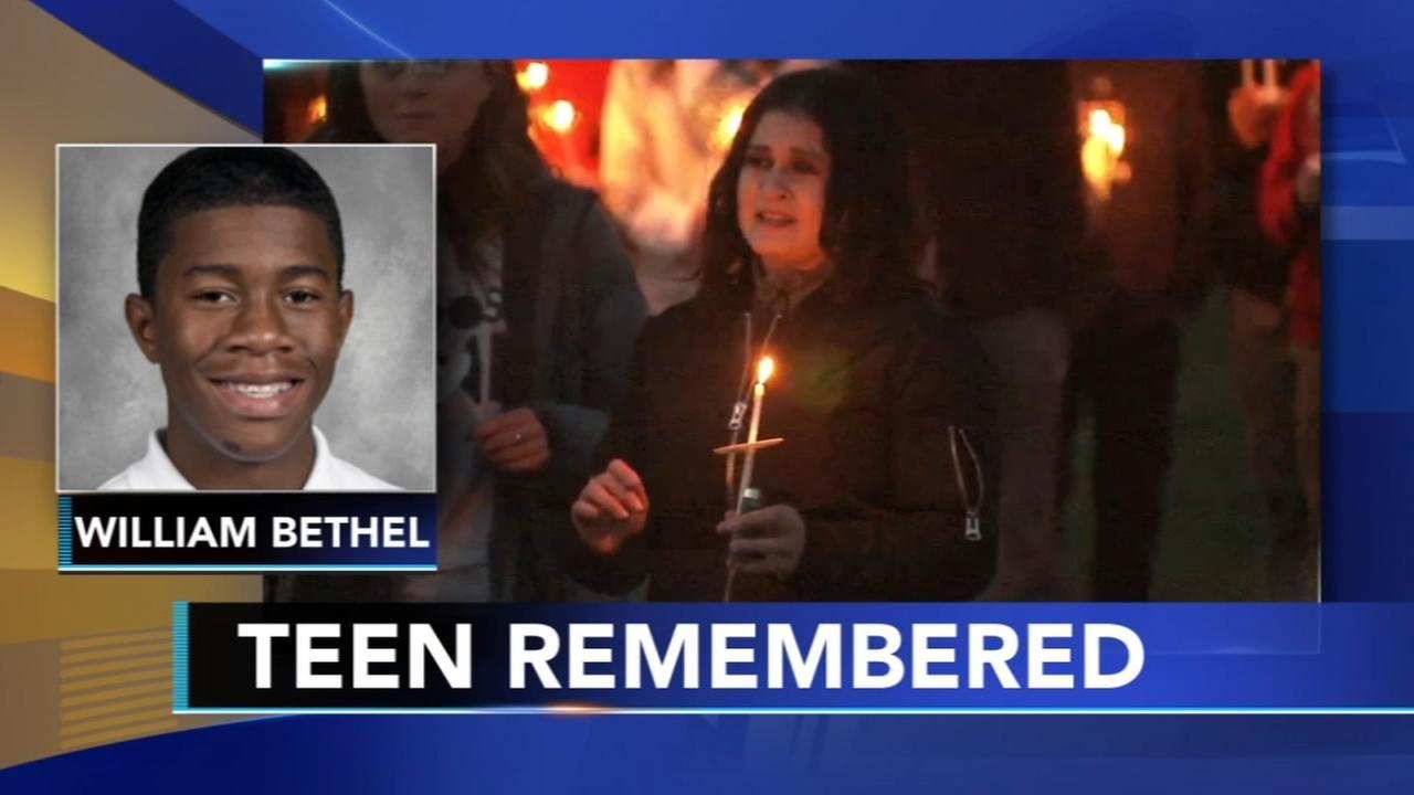 Vigil for teen shot Easter Sunday