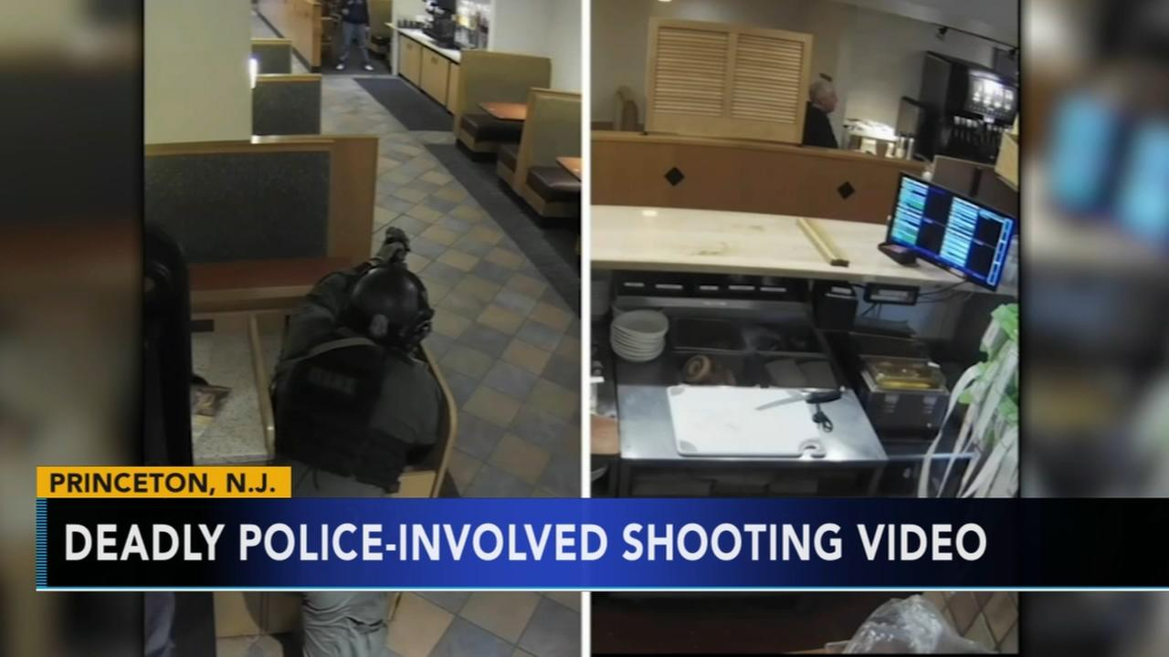 Police: Video shows gunman aimed at cops before he was shot