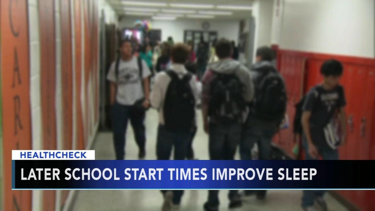 Researchers: Later school start times improve sleep