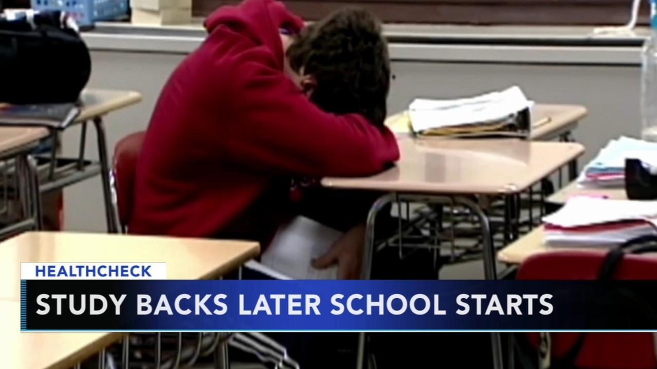 Researchers: Later school start times helps teens sleep better