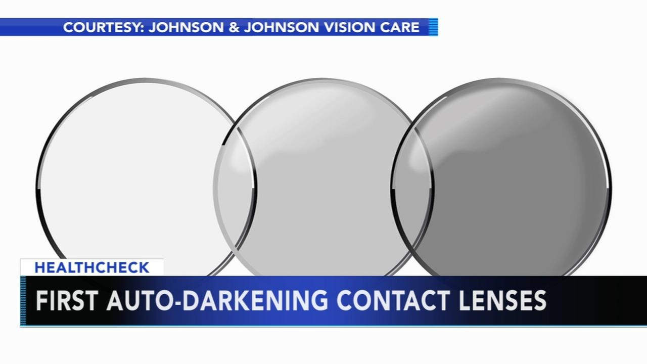 FDA approves first auto-darkening contact lenses