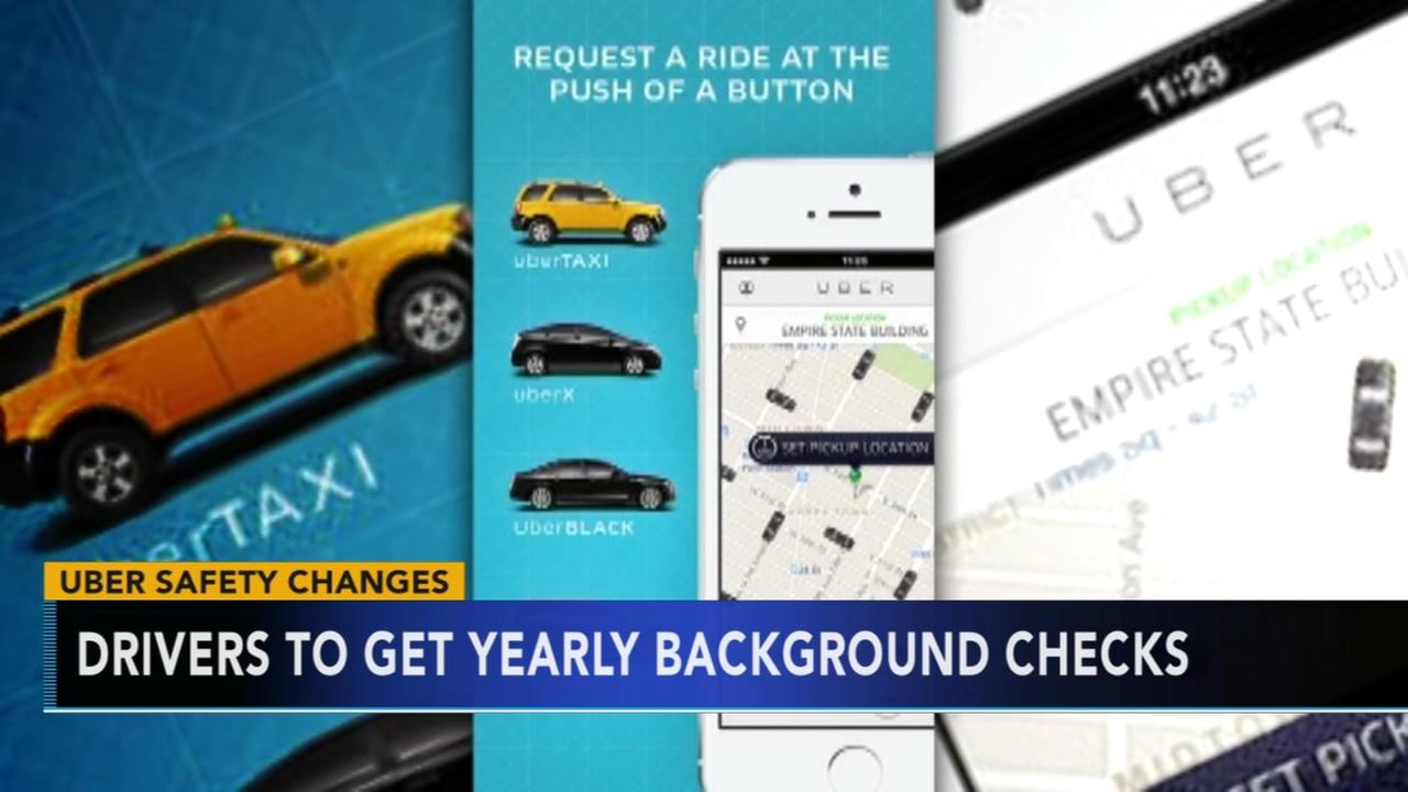 Uber to up its background checks for drivers