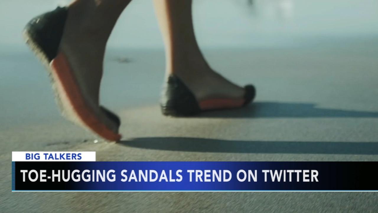 New type of flip-flop trending on Twitter neither flips, nor flops