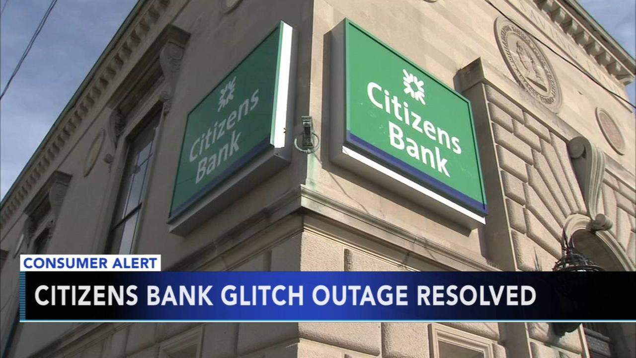 Glitch prevents Citizens Bank customers from accessing accounts