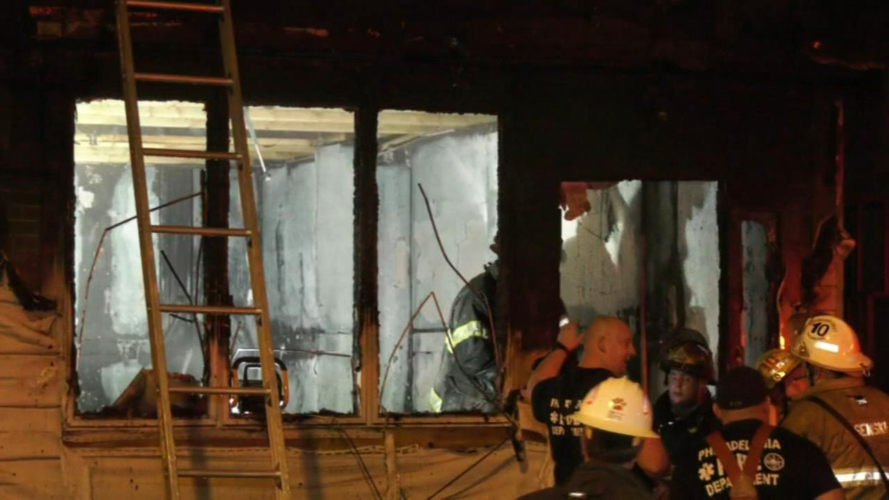 Fire damages home on Tacony St. in Philadelphia