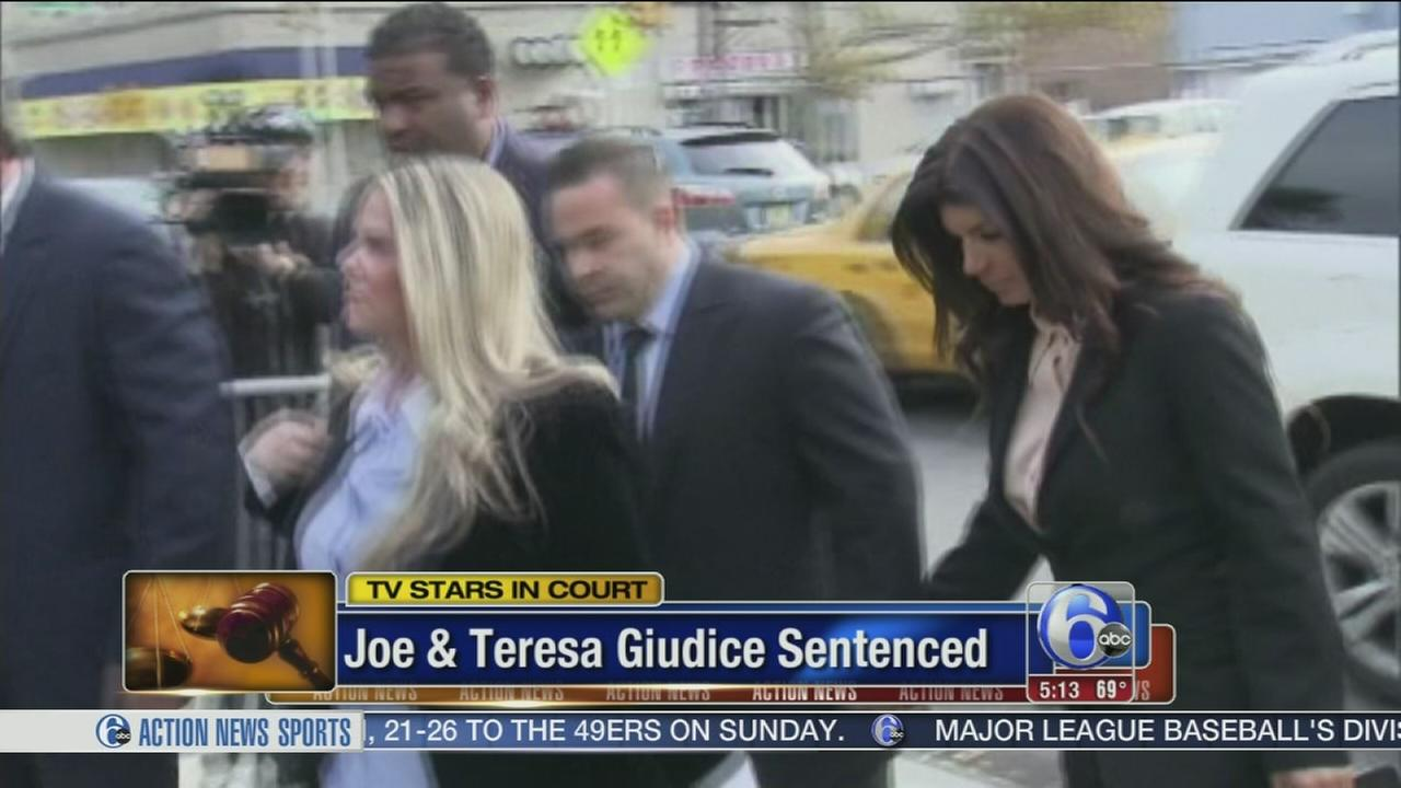 VIDEO: Real Housewives couple sentenced