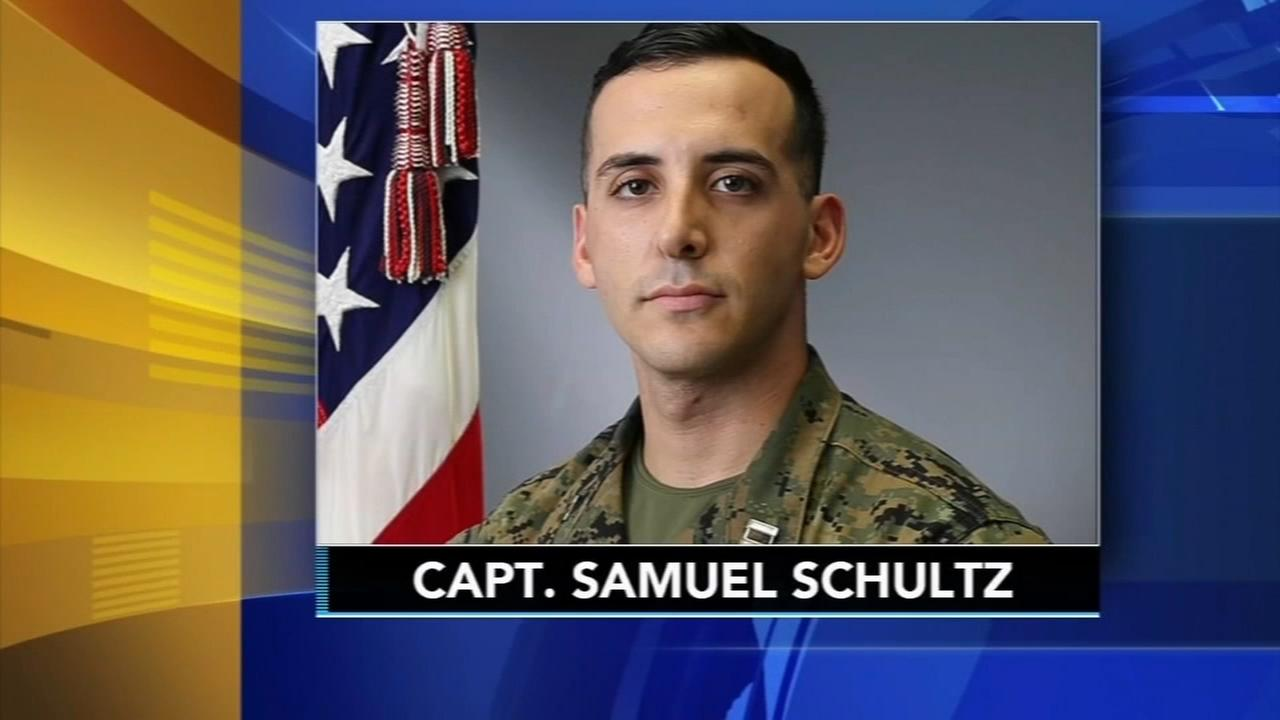 Final farewell for Capt. Samuel Schultz
