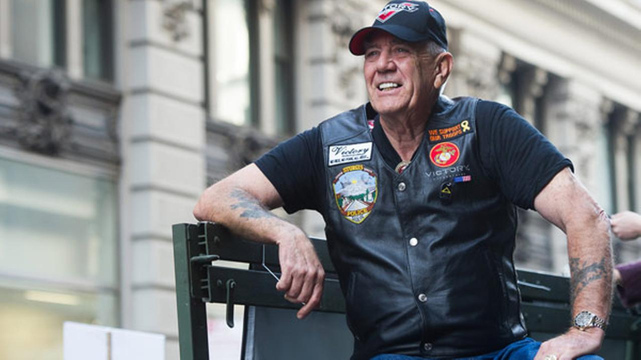 Vietnam veteran and character actor R. Lee Gunny Ermey on Tuesday, Nov. 11, 2014 in New York.
