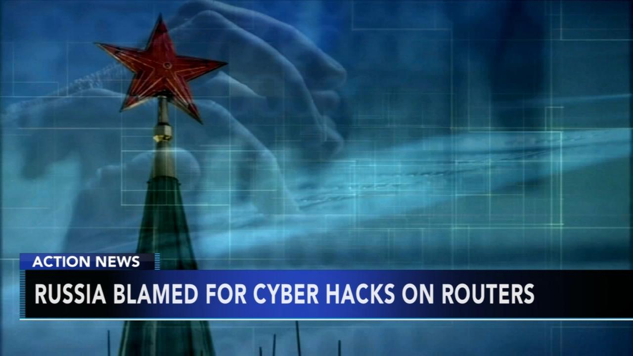 Russia blamed for hacks on routers