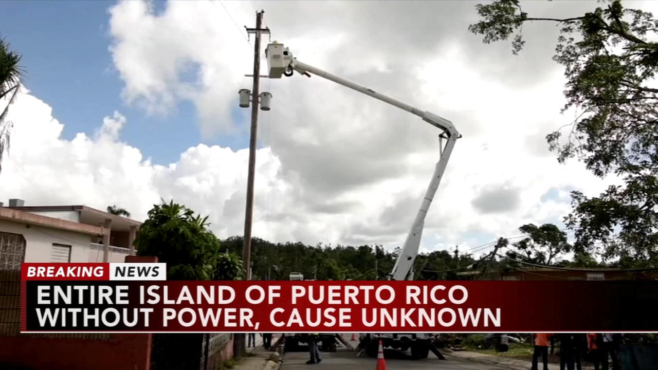 Island-wide blackout hits Puerto Rico; officials probe cause