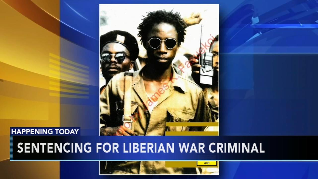 Sentencing for Liberian War criminal