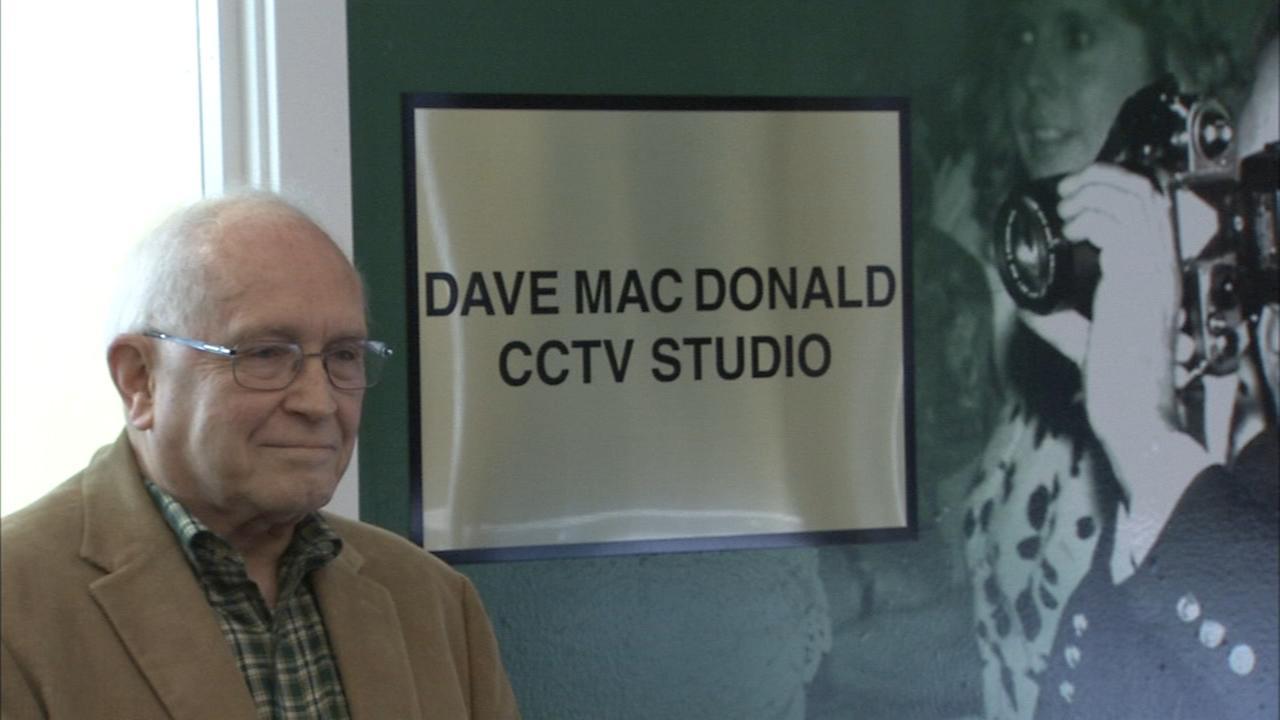 Camden Co. school names her TV studio after retired teacher