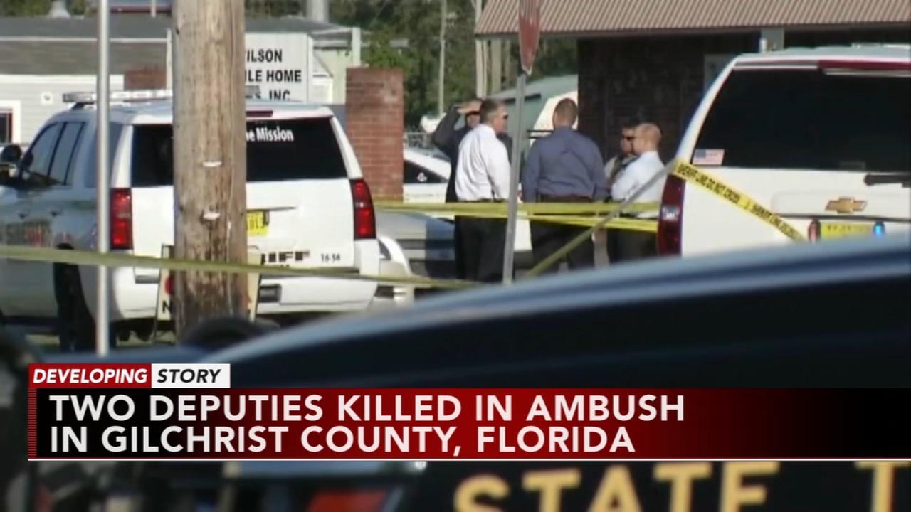 Two deputies killed in Florida